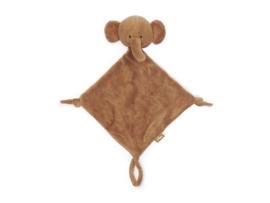 Jollein Speendoekje/ Knuffeldoekje Elephant - Caramel