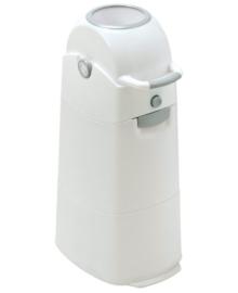 DiaperChamp luieremmer medium wit/zilver