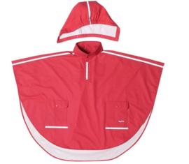 Regenponcho rood