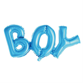"Folie ballon ""Boy"" blauw"
