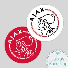 Pringles Top-stickers (8 stuks) - Ajax