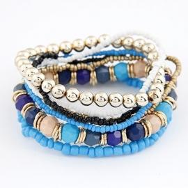 kralen armband | blauw