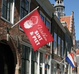 Welkom Sint & Piet-vlag