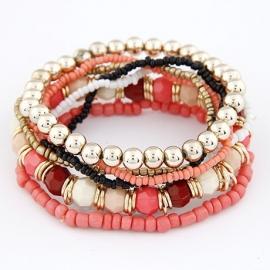 kralen armband | rood