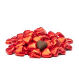 'Choco hartjes' in een lijstje