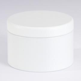 Blikken doosje | Wit (set van 4)