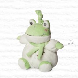 Muziekknuffel kikker | groen