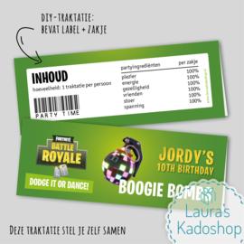 Label + zakje - Boogie Bombs (Fortnite)