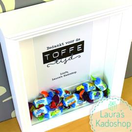 'Toffees' in een diepe box