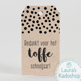 Kadolabel eco - Toffe schooljaar