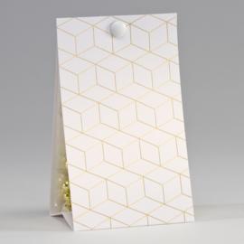 Snoepzakwikkel | geometrisch patroon