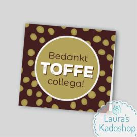 Blokzakje 'TOFFE collega' - Côte d'Or toffees