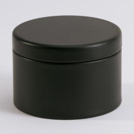 Blikken doosje | Zwart (set van 4)