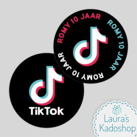 Pringles Top-stickers (8 stuks) - TikTok