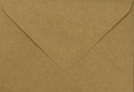 Envelop Bruin Kraft - 15,5 x 11 cm