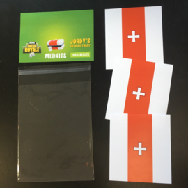 DIY Traktatie 'Medkits' (Fortnite)