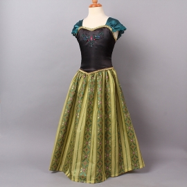Frozen jurk Anna [luxe]