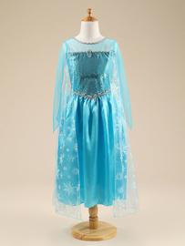 Frozen jurk Elsa blauw