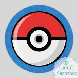 Pringles Top-stickers (8 stuks) - Pokemon
