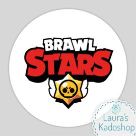 Pringles Top-stickers (8 stuks) - Brawl Stars