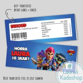 Label + zakje - Brawl Stars