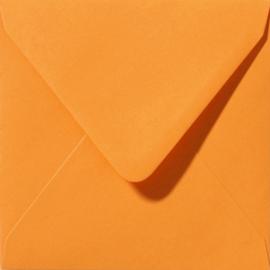 Envelop Oranje - 14 x 12,5 cm