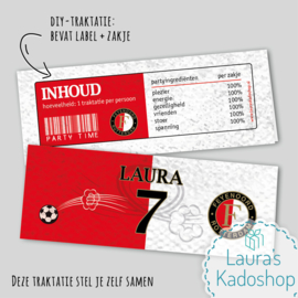 Label + zakje - Feyenoord
