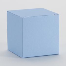 Kubusdoosje | lichtblauw