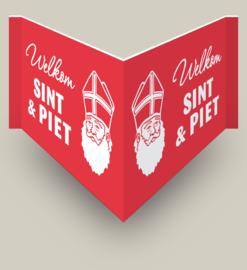 Welkom Sint & Piet-raambord