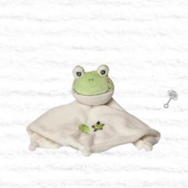 Knuffeldoekje kikker | groen