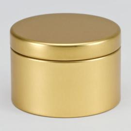 Blikken doosje | Goud (set van 4)