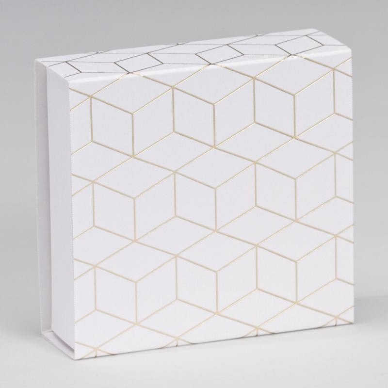 Luciferdoosje | geometrisch patroon