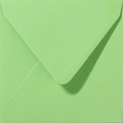 Envelop Appelgroen - 14 x 12,5 cm