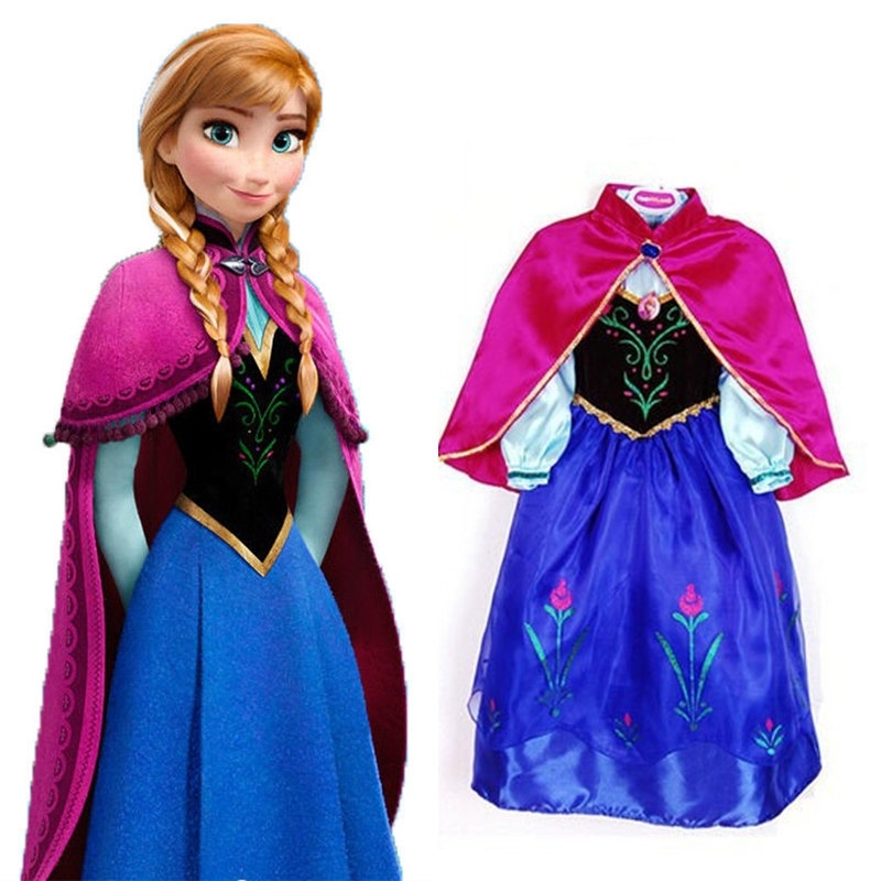 Frozen jurk Elsa [luxe]