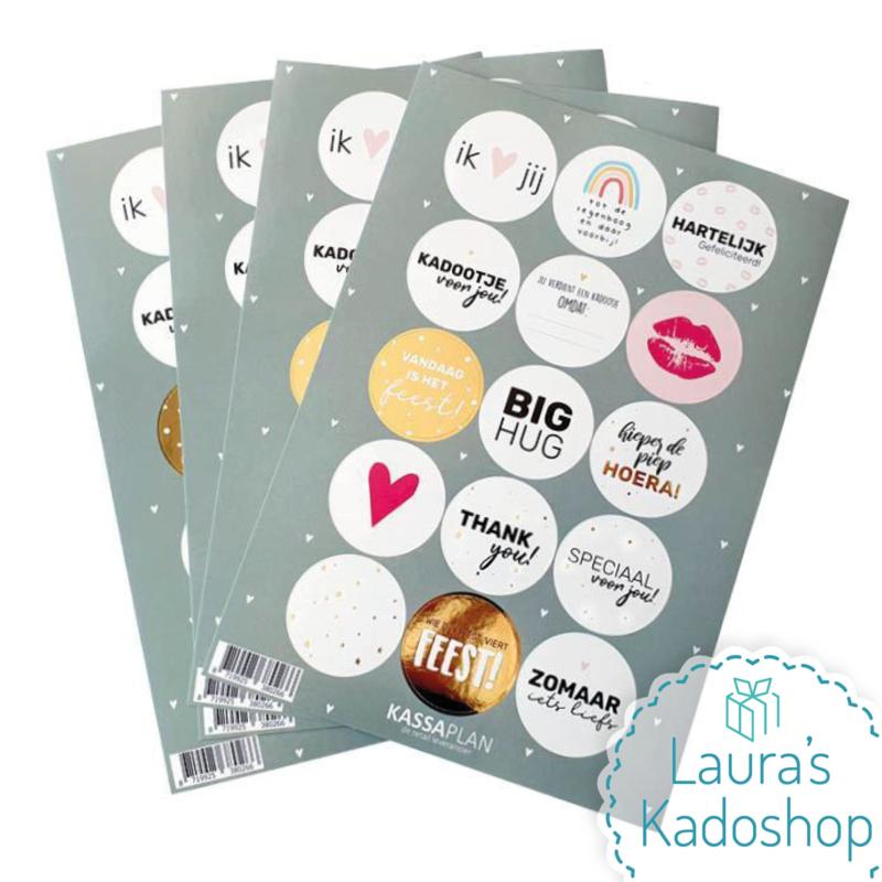 Stickervel - Kadootje