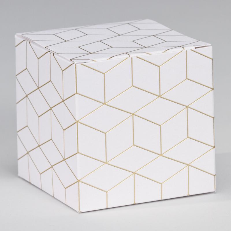 Kubusdoosje | geometrisch patroon