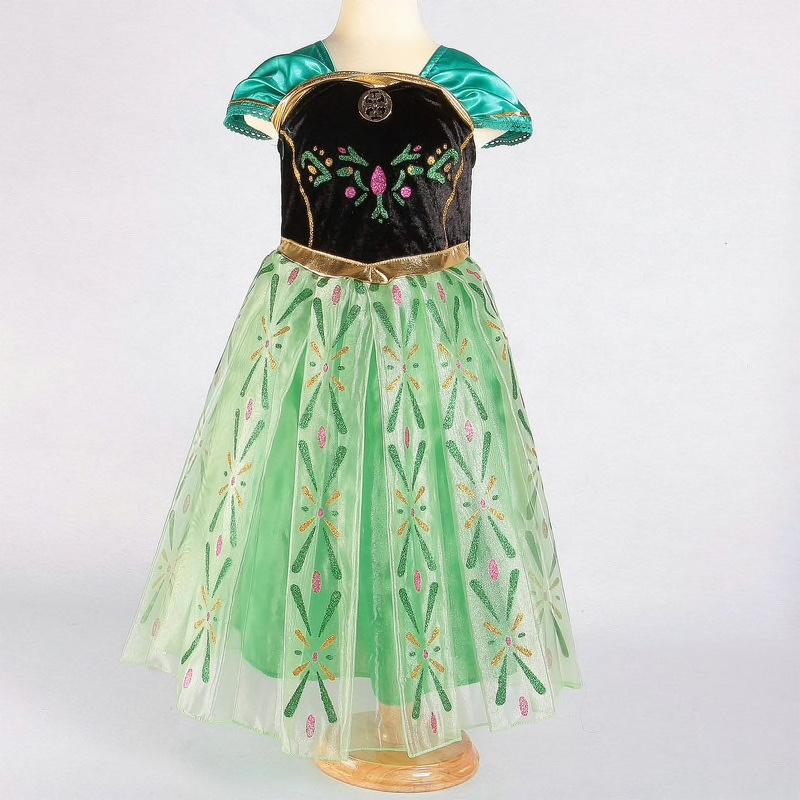 Frozen jurk Anna