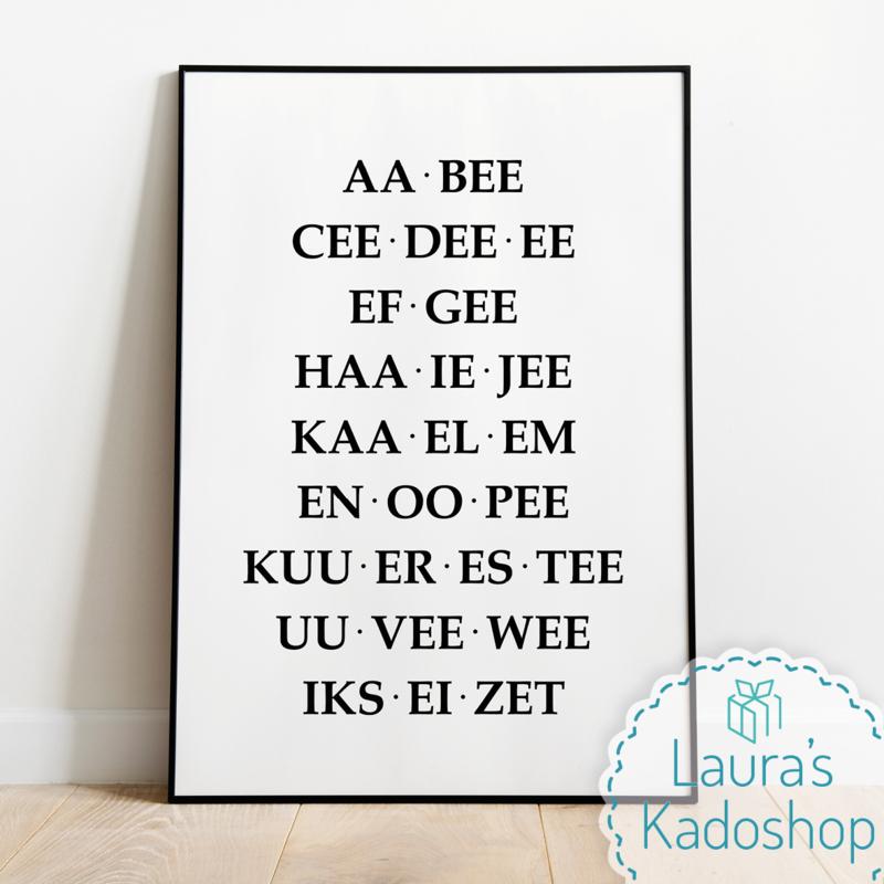 Poster 'AA BEE CEE'