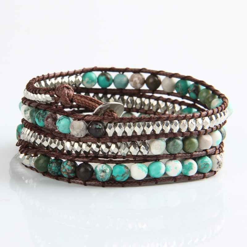 wrap armband | turquoise