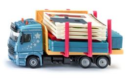 Siku 3562  - Vrachtwagen Prefab huis transport (1:50)