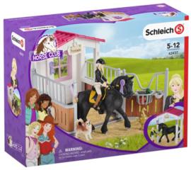Schleich 42437 - Paardenbox Tori en Prinses