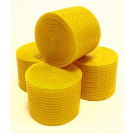 Britains 42833 - Ronde balen geel; 4 stuks (1:32)