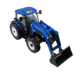 Britains 43148 - New Holland T6.180 met voorlader (1:32)