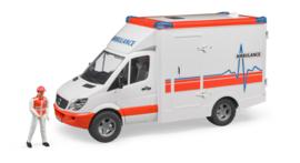 Bruder 2536 - Mercedes-Benz  Sprinter ambulance met chauffeur