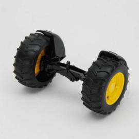 Bruder 42050 - Vooras geel t.b.v. tractoren 2000 serie