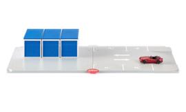 Siku 5589 - SIKUWorld - Garages en parkeerplaatsen set incl. 1 auto  (1:50)