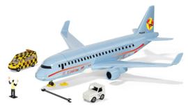 Siku 5402 - Siku World Verkeersvliegtuig met accessoires
