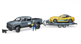 Bruder 2504 - Dodge RAM 2500 Power Wagon Roadster Racing Team