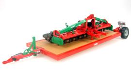 Universal Hobbies 68109 - Prosol Rotoreg met Transportwagen (1:32)