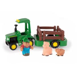Britains 46922 - Boerderij speelset: tractor, aanhanger en dieren